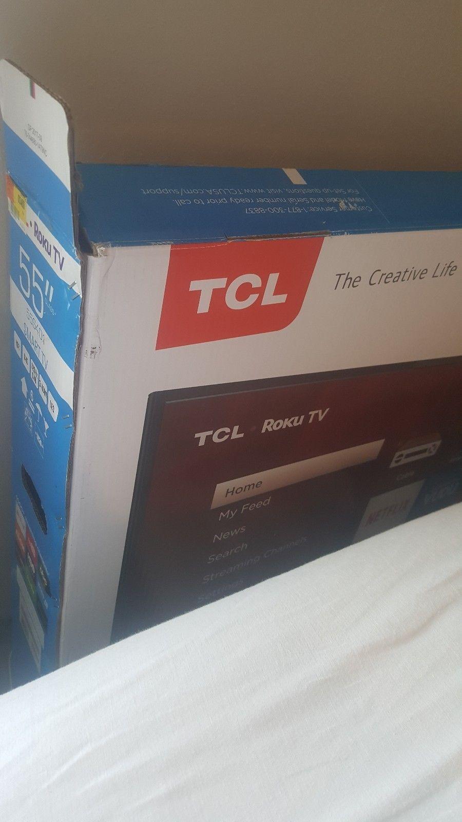 Us Deals Tv Tcl 55p607 55 4k Ultra Hd Roku Smart Led Tv 31800 0