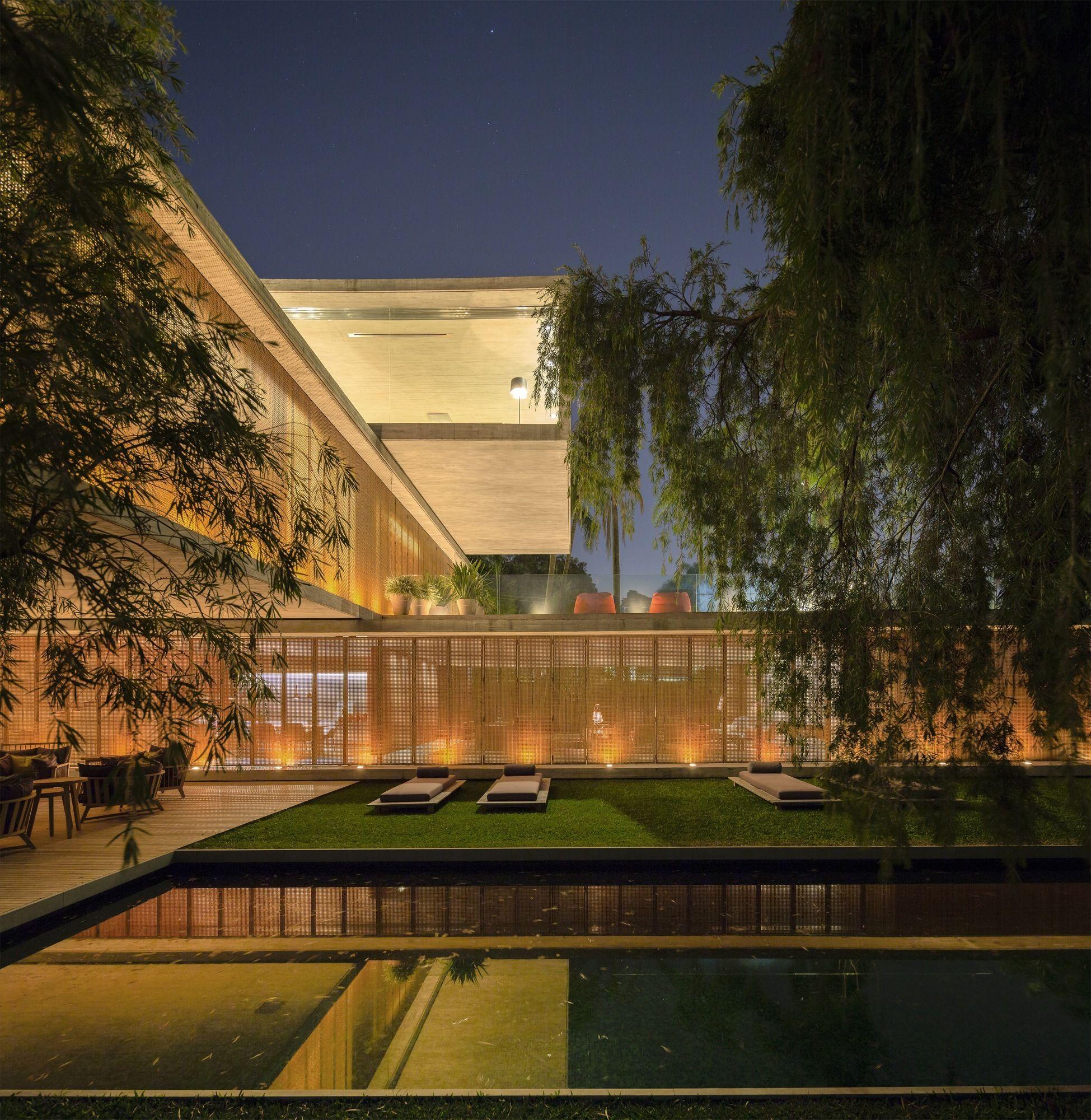 Open layout house concept by studio mk27 - Galeria Casa P Studio Mk27 Marcio Kogan Lair Reis 81