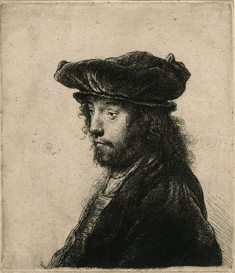 Rembrandt The Fourth Oriental Head, 1635