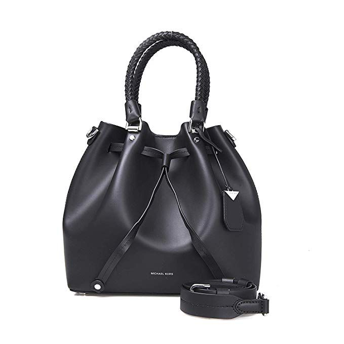e2dc8707c7822c MICHAEL MICHAEL KORS Blakely Leather Bucket Bag (Black) | Handbags ...