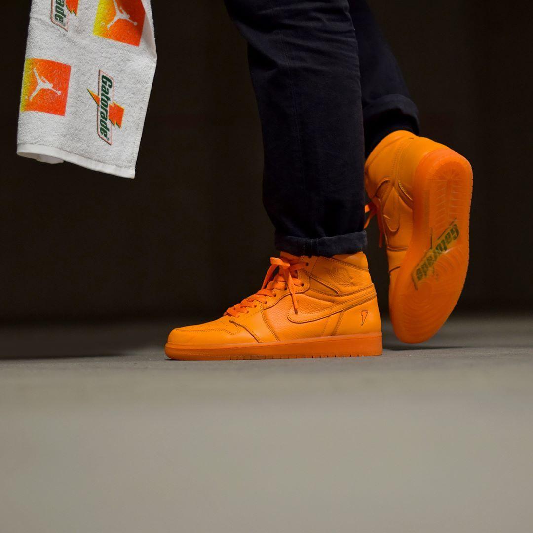 67b6544ef13ac8 Air Jordan 1 Gatorade Orange Peel . Disponible Available  SNKRS.COM . Be  Like Mike!