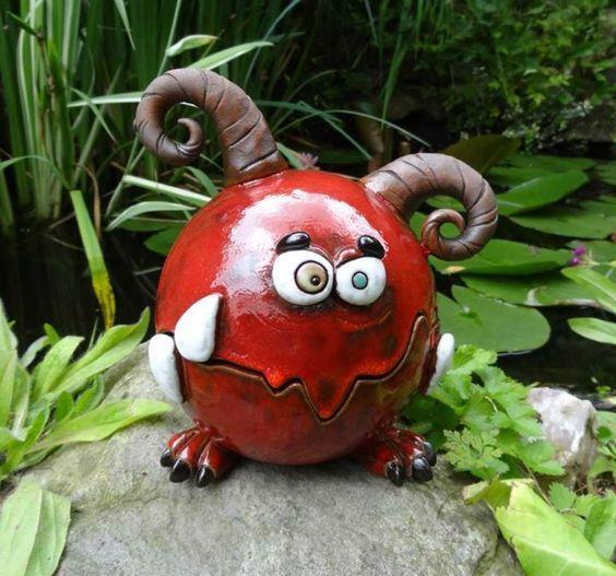 Bildergebnis Für Lustiges Aus Ton Keramik Ceramic Monsters