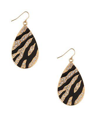 Glistening Teardrop Earrings | FOREVER21 - 1000047465