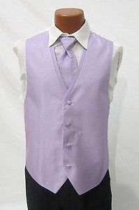 Mens Periwnkle Light Blue Diamond Tuxedo Fullback Vest /& Tie Wedding Medium M