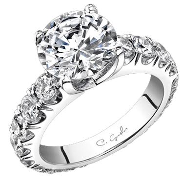 c gonshor designer engagement rings and wedding bands