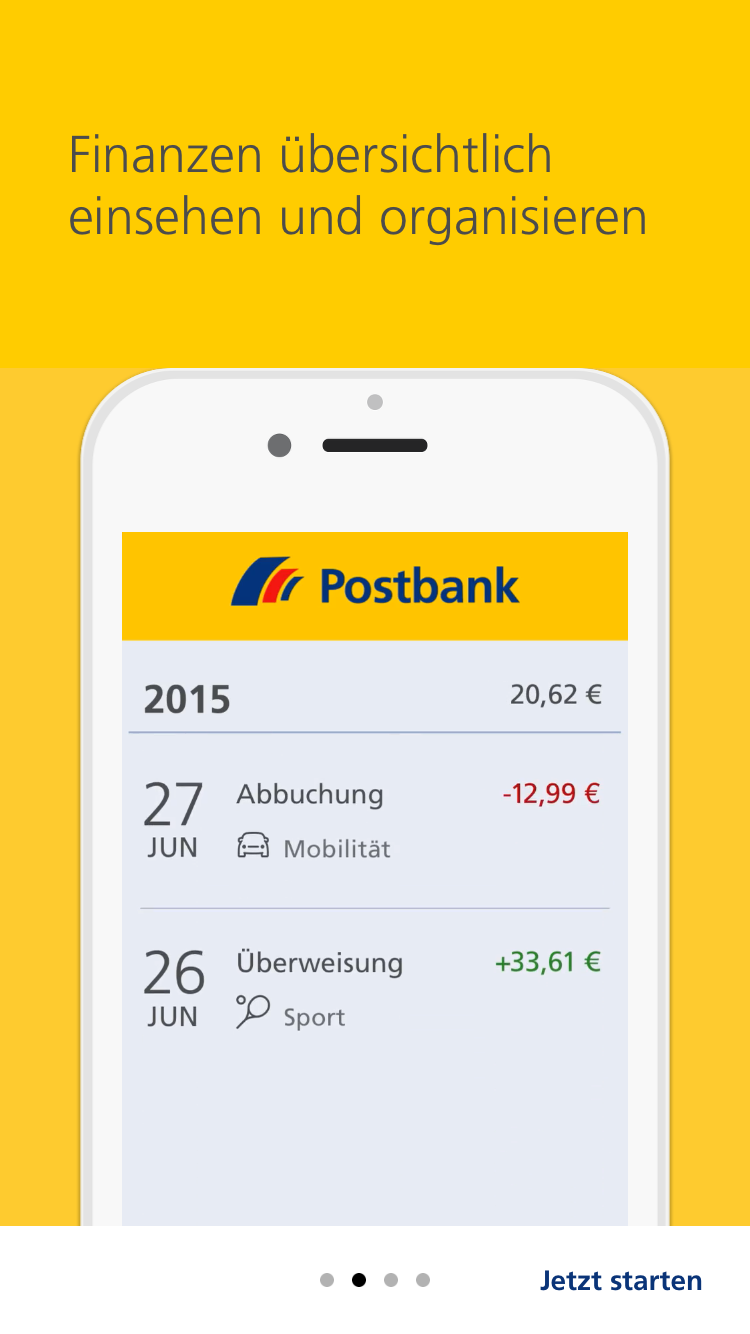 Postbank Animierte Product Tour Mit Kernfeatures 2 Gaming Logos App Logos