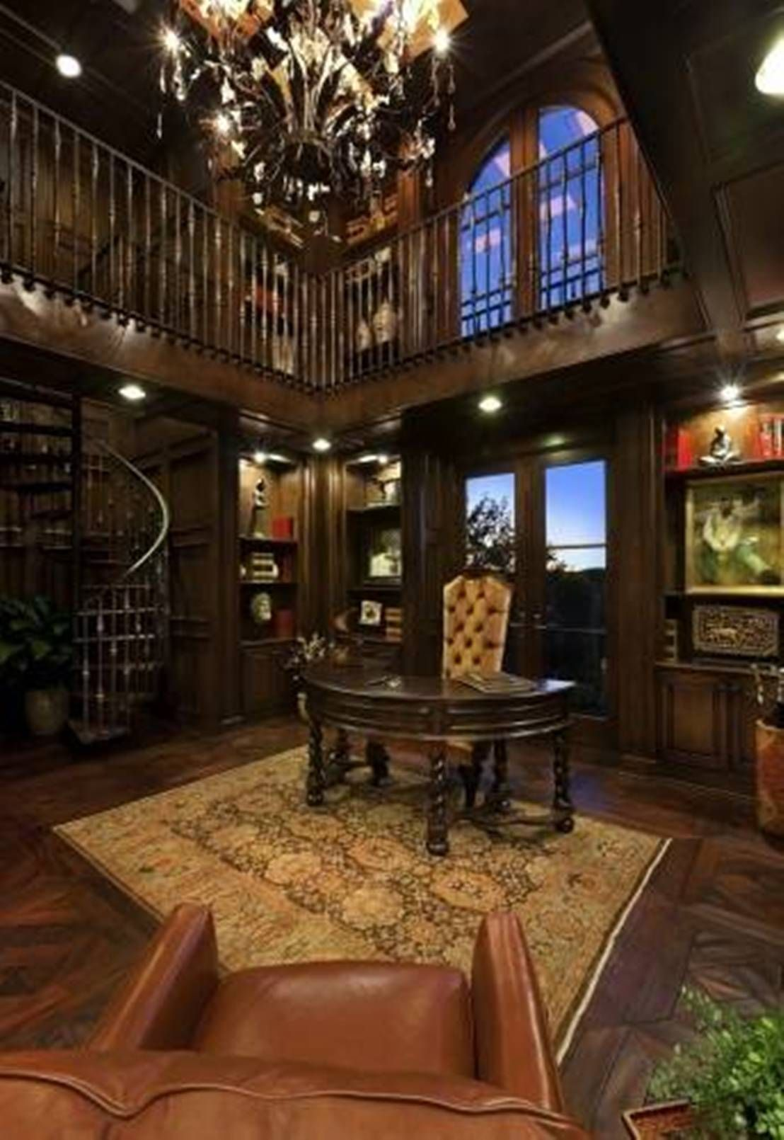 home office style ideas. Home Office , Victorian Work Style : With Curved Ideas