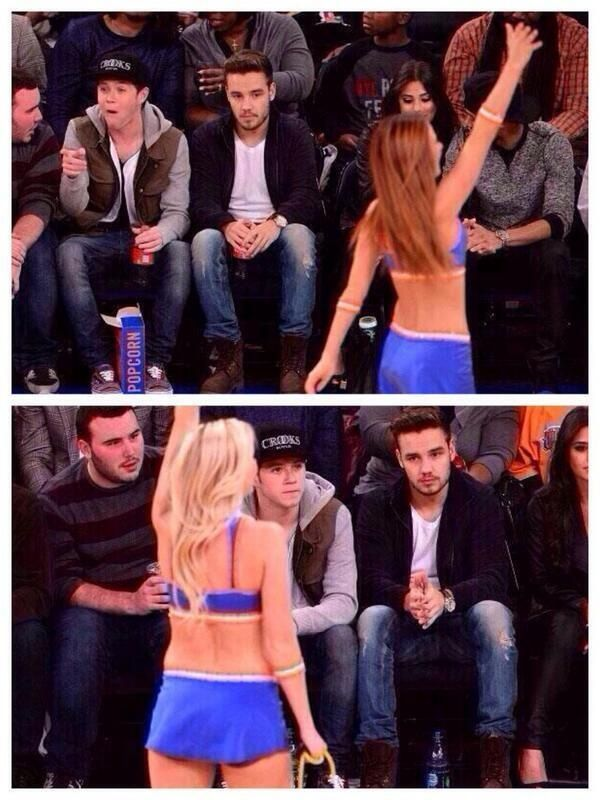 The fact that Niall could care less about the girl makes me happy!