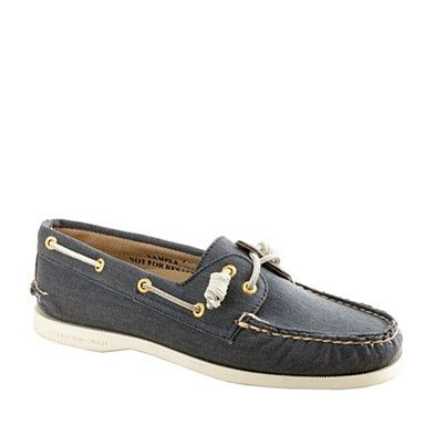 J Crew Sperry Top-Sider, just like my old Sperry's from the 80's