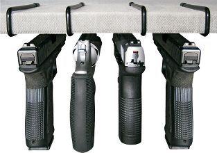 Liberty Safe and Gun Storage Solutions Handgun Hangers – Under Shelf #gunsammo