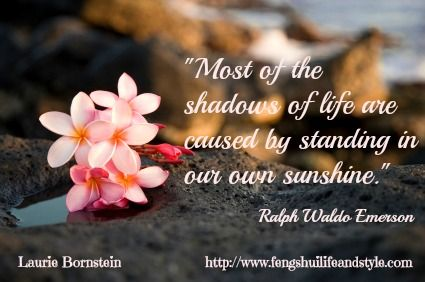 It's spring! Stand in your sunshine, not in your way!