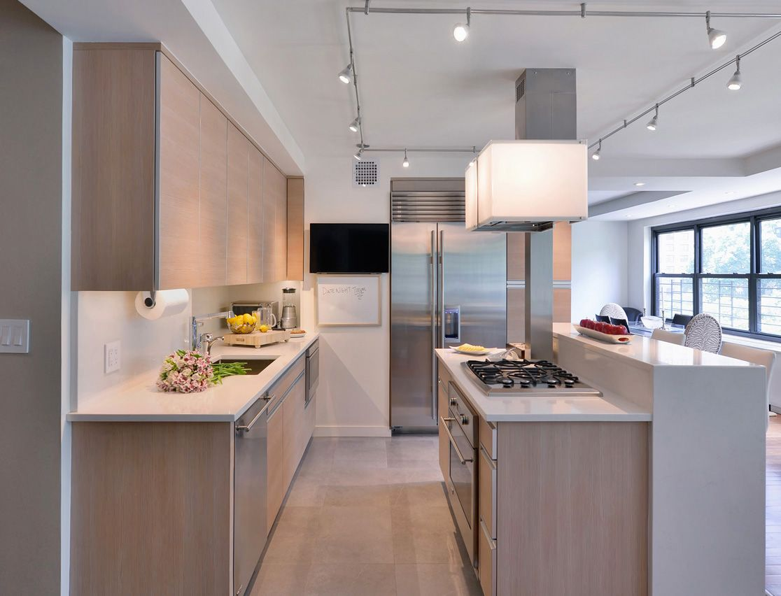 New York City Apartment Kitchen Small Apartment Galley Kitchen
