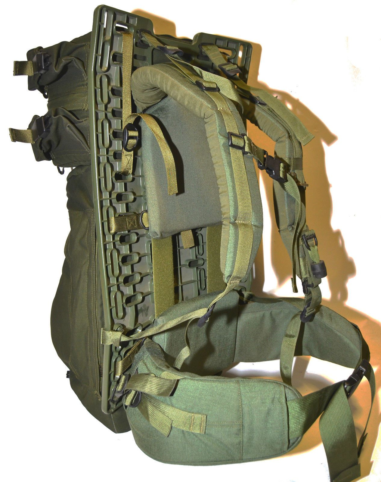 Canadian Army Pack Board W Bags Manufactured In 1998