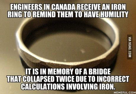 I've heard they also have to give them back when they retire and they are recycled to new engineers.
