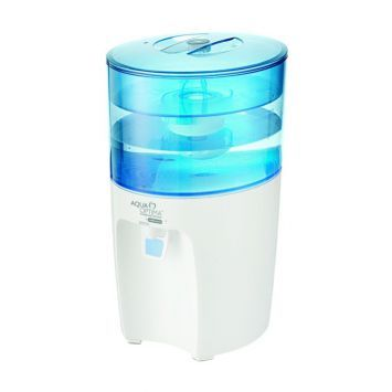 The Filtered Water Dispenser and Chiller by Aqua Optima provides instant ice cold water, both at home or in the office. This water dispenser comes with a 7.2 litre capacity and has a removable lid that makes filling and cleaning easy. The water dispenser comes with a with a fast fill tap and a non-drip dispensing mechanism. The Aqua Optima Filtered Water Dispenser and Chiller has a thermoelectric cooling system built in to the keep the water chilled through out the day. The Aqua Optima…