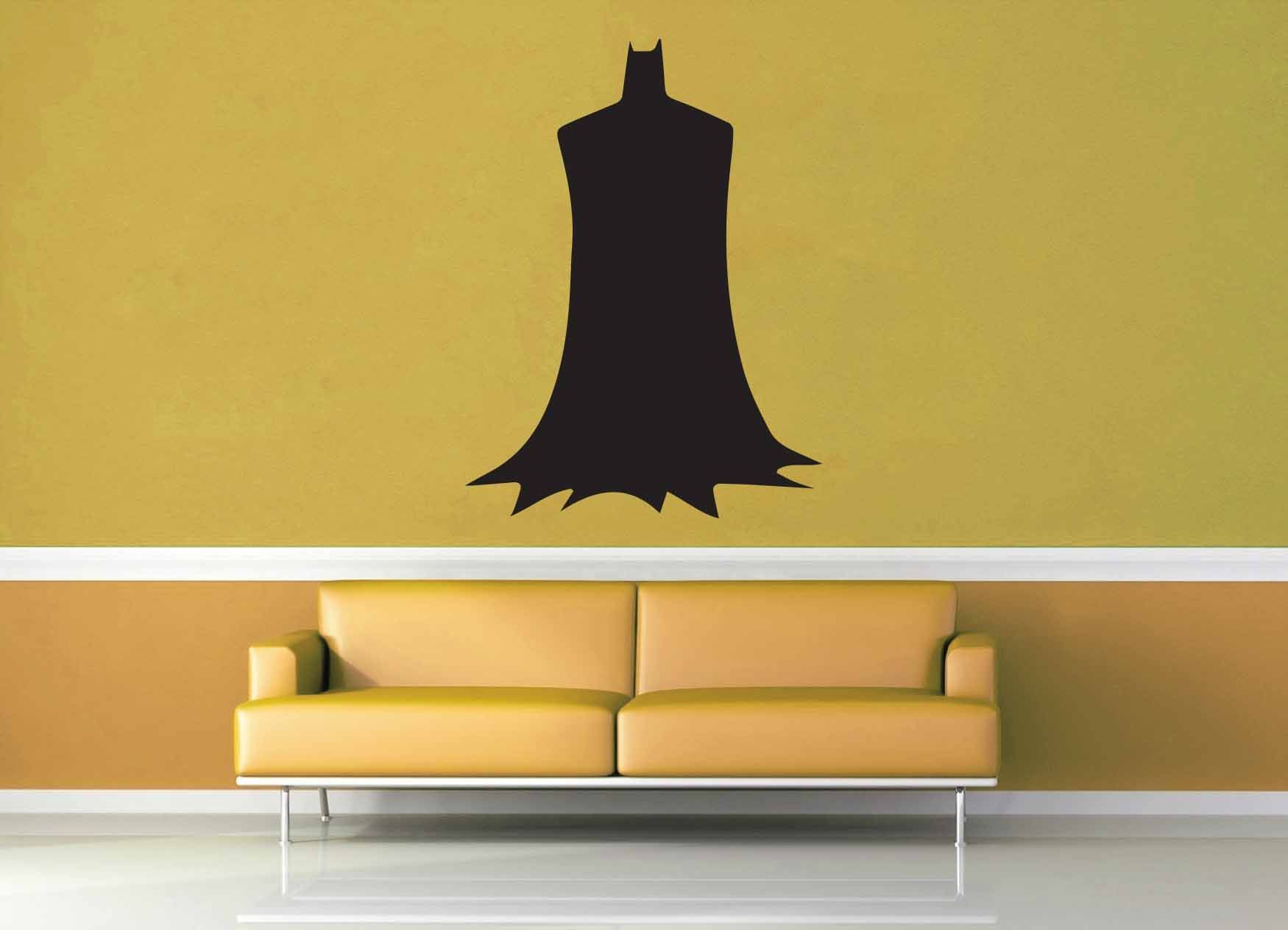 Batman silhouette wall decal no 2 wall decals batman and batman silhouette wall decal no 2 amipublicfo Image collections