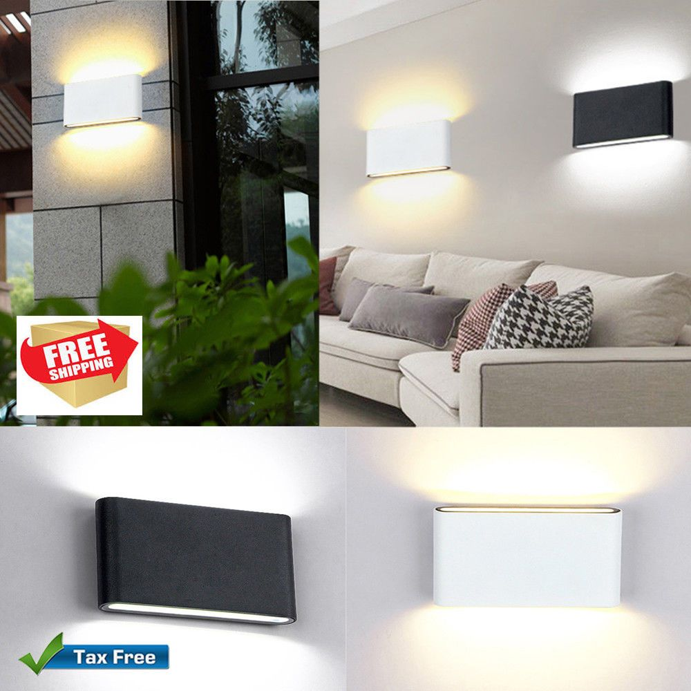 Decoration Led Interieur Led Wall Light Outdoor Indoor Lamp Waterproof Modern Home