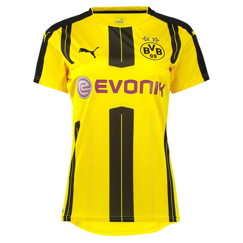 Football Soccer. Football Kits. Football Jerseys. Football Jerseys. Air  Jordans. Borussia Dortmund Puma Women s 2016 17 Home Jersey - Yellow Puma  2016 e97856ac5