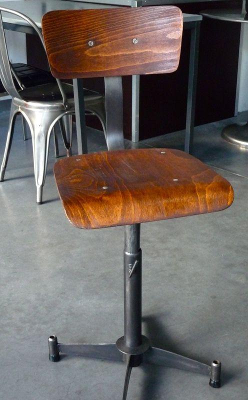 Chaise Atelier Industrielle 4