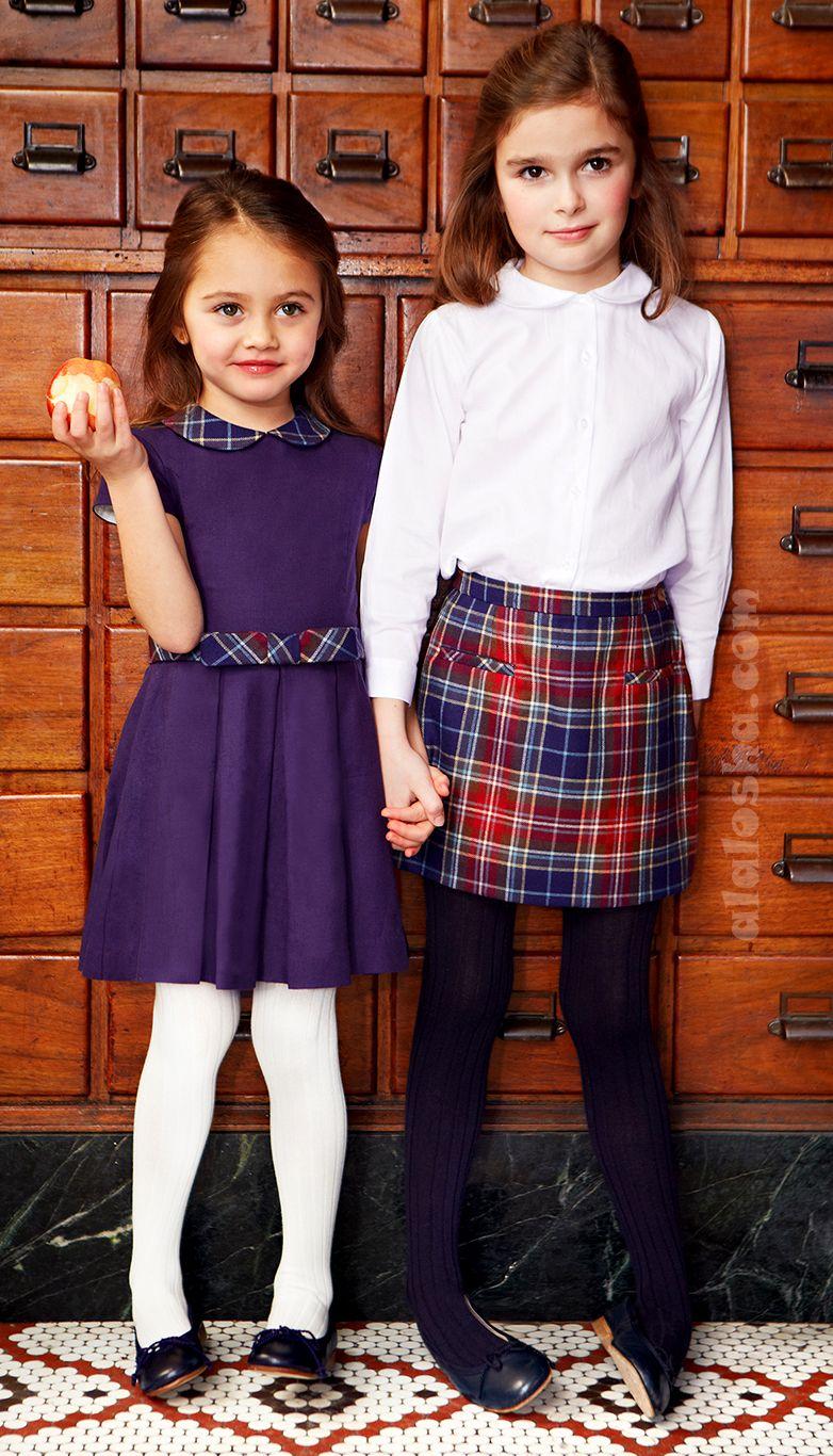 Alalosha Vogue Enfants Oscar De La Renta Fw14 School -9178