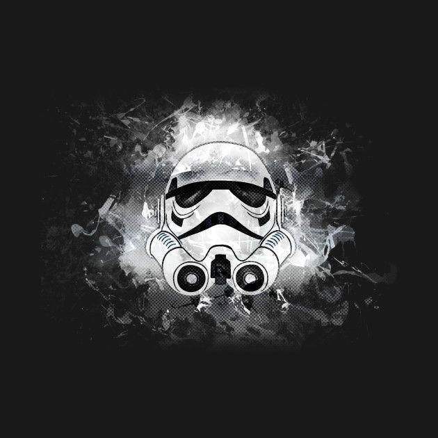 Awesome 'Grungetrooper' design on TeePublic! - Grungetrooper by MrDragon (SciFi Tshirts)