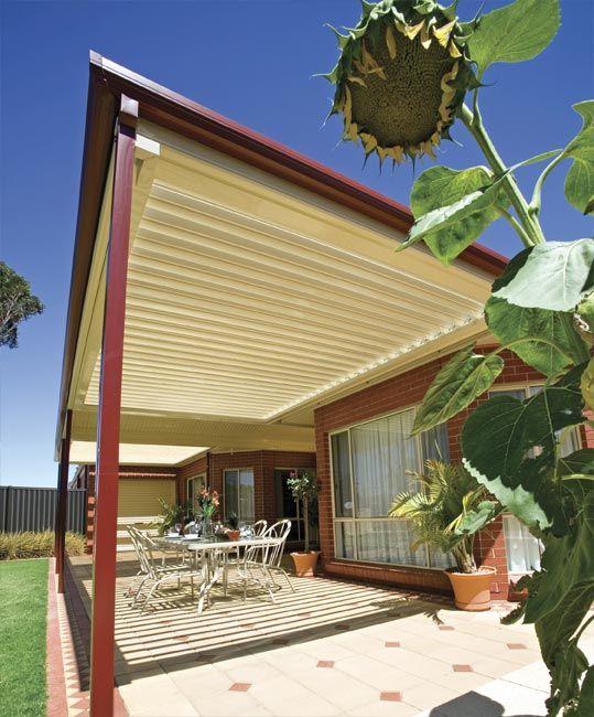Stratco Outback Sunroof   Awnings, Carports, Pergolas, Verandahs And Patios