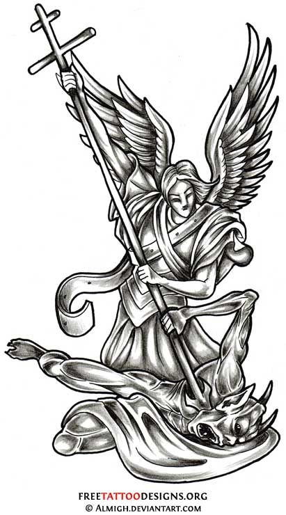 Angel Wings, Guardian Angel And St Michael
