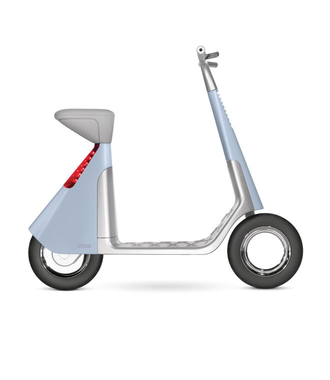 Scoot Electric Scooter 2005 A Simple And Stylish Solution For