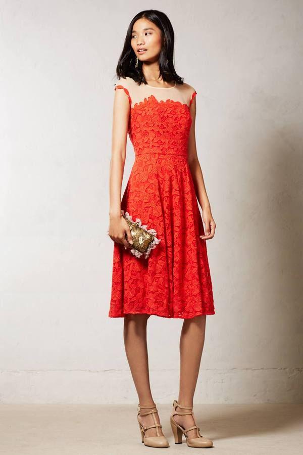 190 Anthropologie Roseland Dress On Shopstyle Com Prom