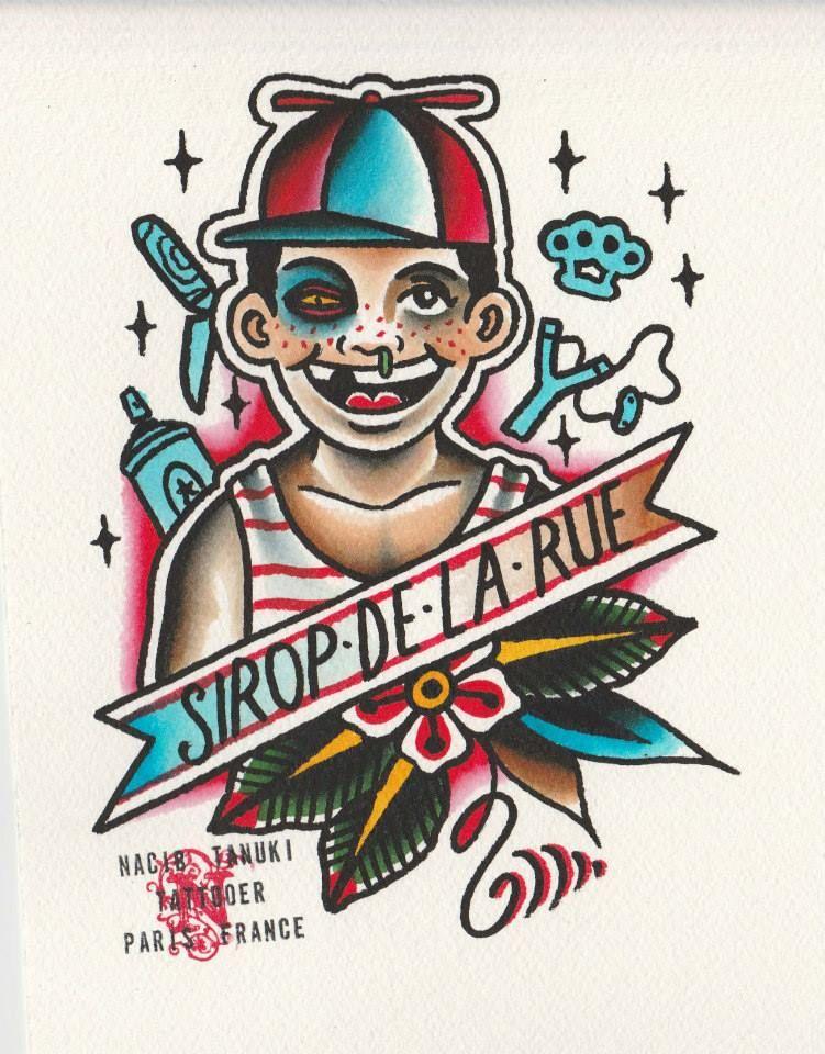 Le Sirop De La Rue : sirop, Sirop, HandMade, Tattoo