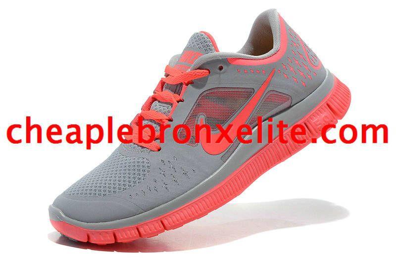 pretty nice 2391f 898d0 Grey Nike Free Run 3 Womens Sun Red 510643 061