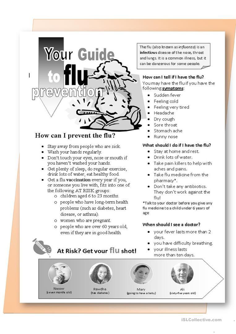 Pin On Health Education Flu [ 1079 x 763 Pixel ]
