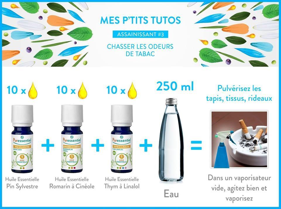 diy liminer les odeurs de tabac avec les huiles essentielles nettoyage ecolo pinterest. Black Bedroom Furniture Sets. Home Design Ideas