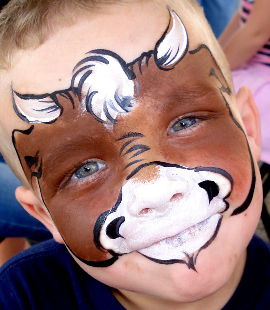 animals facepainting - Google Search | Cowgirl party | Face