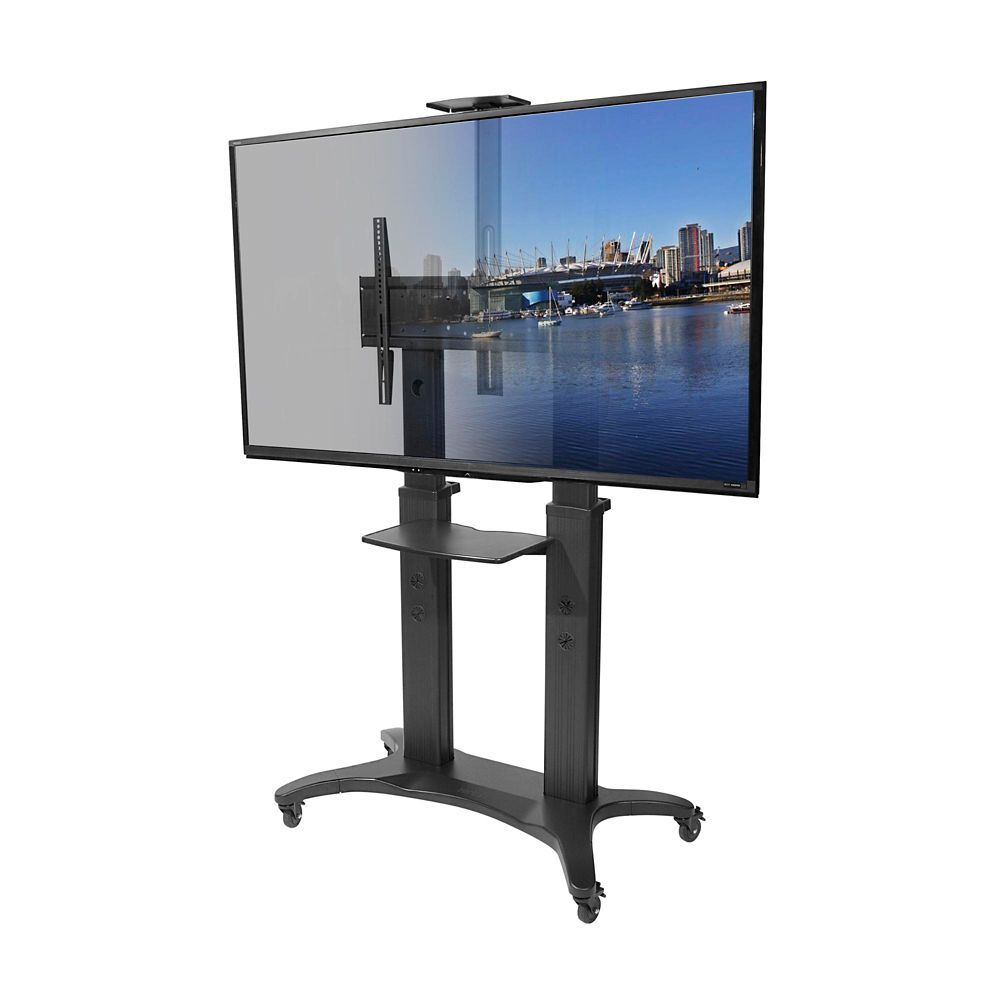 MTMA80PL Mobile TV Mount with Adjustable Shelf for 55inch