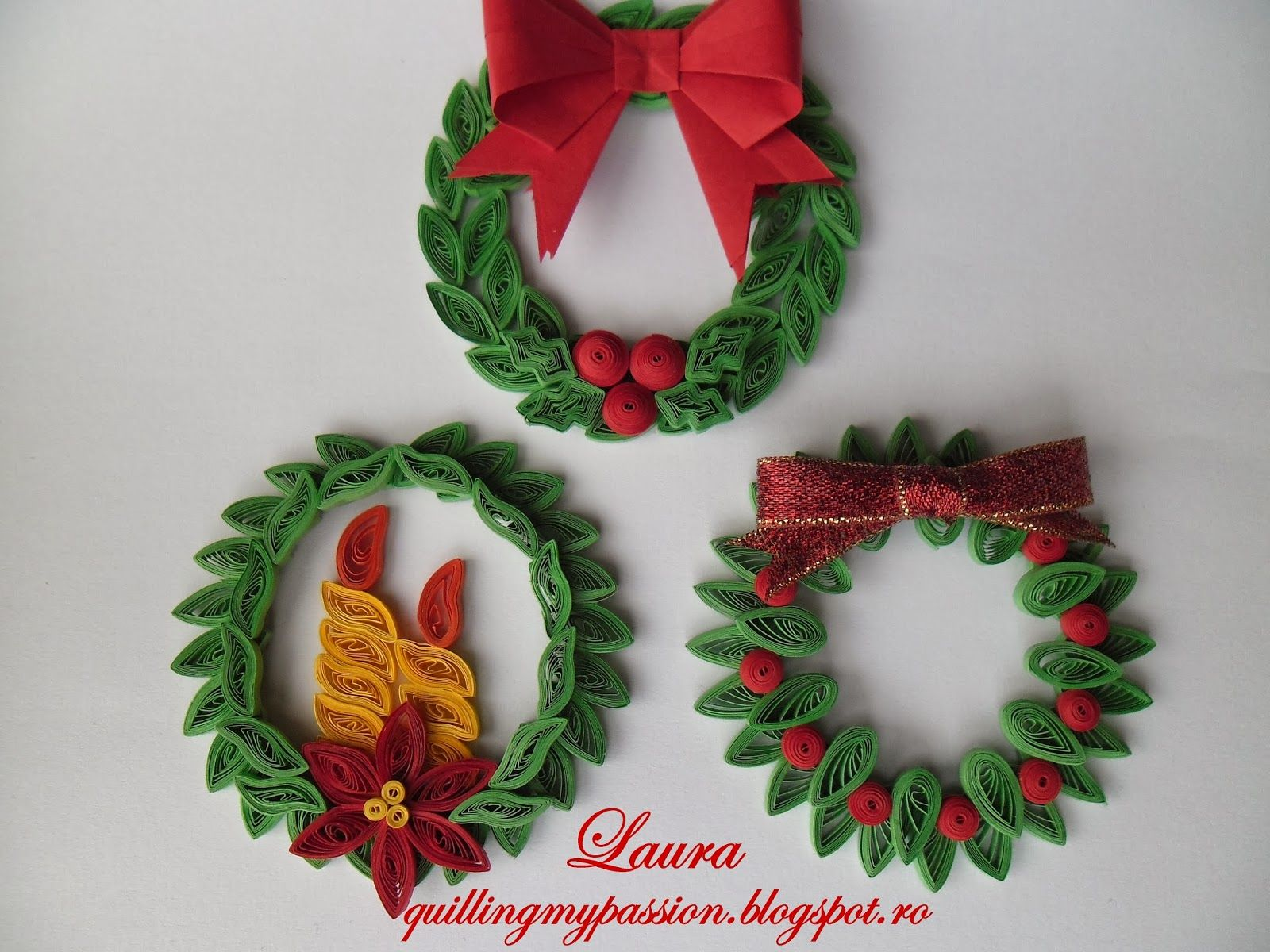 quilling my passion quilled christmas ornaments quilling