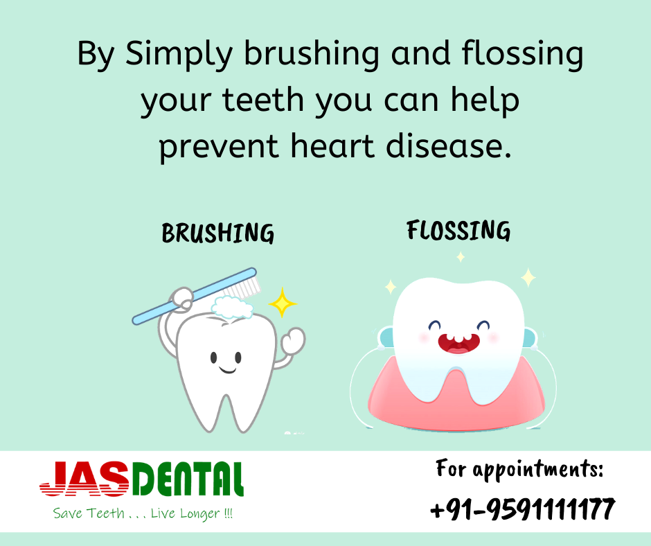 Dental Tip! By Simply Brushing And Flossing Your Teeth You