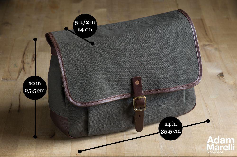 65a3422a8e Medium Shoulder Bag with dimensions. © Adam Marelli Leica Camera