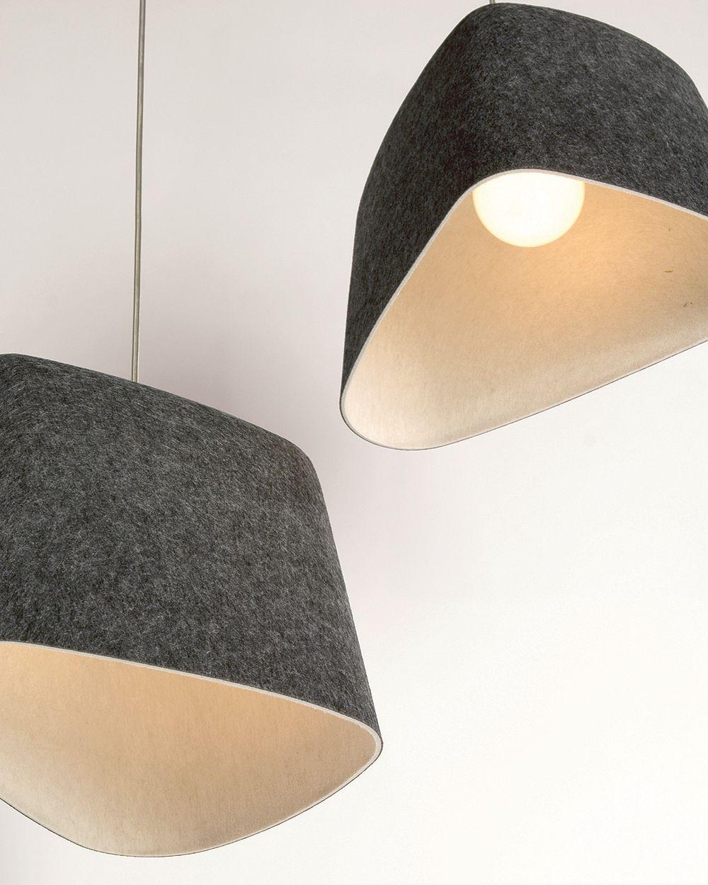 Felt Shade Pendant Light Tom Dixon Lamp Design Lamp