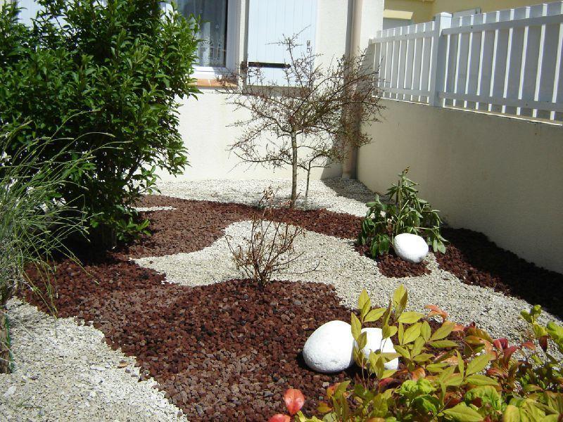 décoration jardin cailloux | Jardin pierre | Pinterest