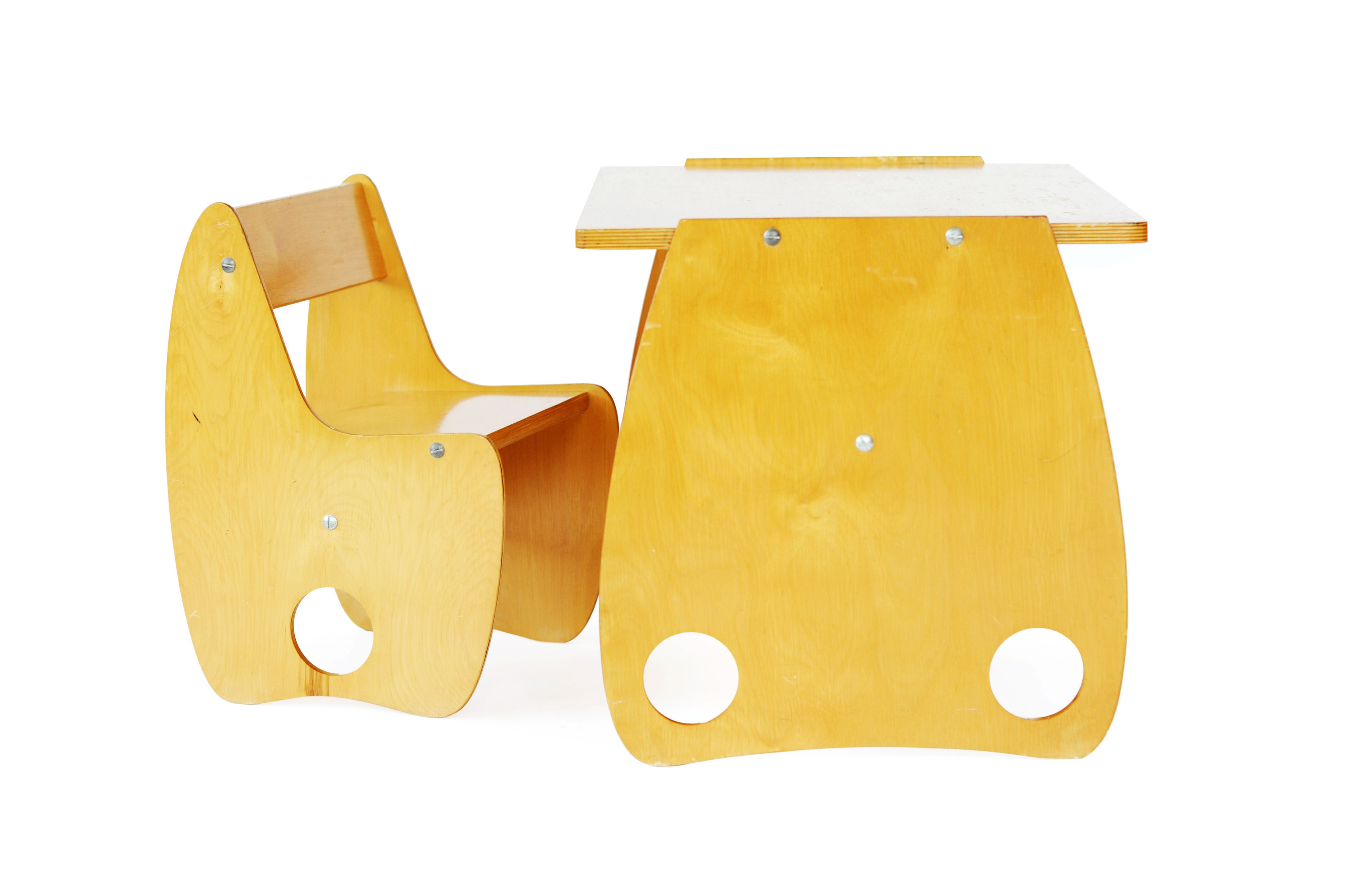 Interesting.   Hans Mitzlaff and Albrecht Lange, 'USSR Desk Set,' circa. 1960, kinder Modern