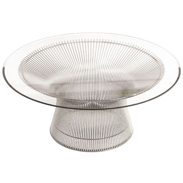 The Platner Coffee Table Is From The Iconic 1966 Warren Platner Collection  Of Tables And Chairs