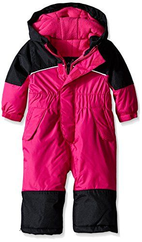 d60dd3f27 iXtreme Baby Girls  One Piece Snowmobile Snowsuit