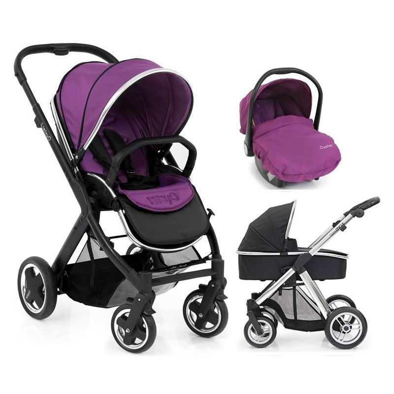 Babystyle Oyster Travel System Grape