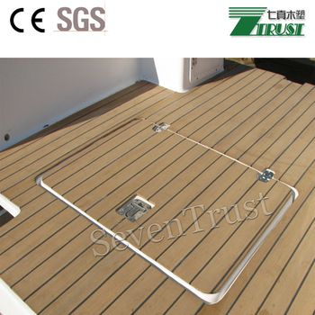 Boat Waterproof Floors For Anticorrosive Houseboat Composite Panels Marine Flooring Material