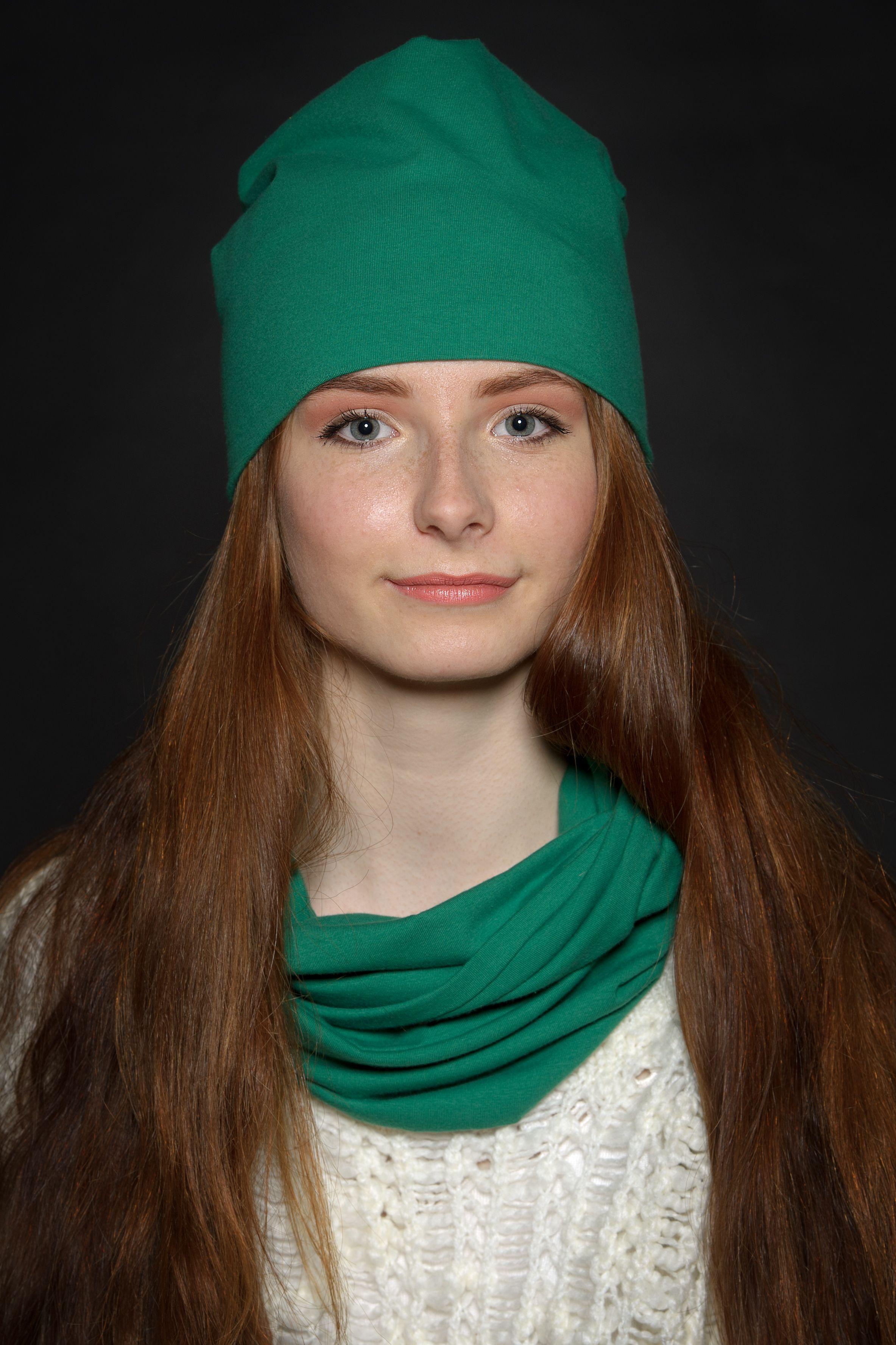 Slouchy beanie & infinity scarf set made by AidaCraft   Aida Craft ...