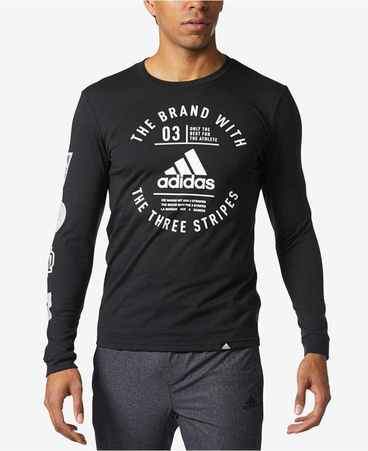 c191b9786aec adidas Men's Graphic Long-Sleeve T-Shirt | Products in 2019 | Adidas ...