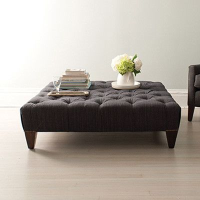 American Made Upholstered Ottoman Our Chesterfield Collection Is American  Made With A Sustainably Harvested