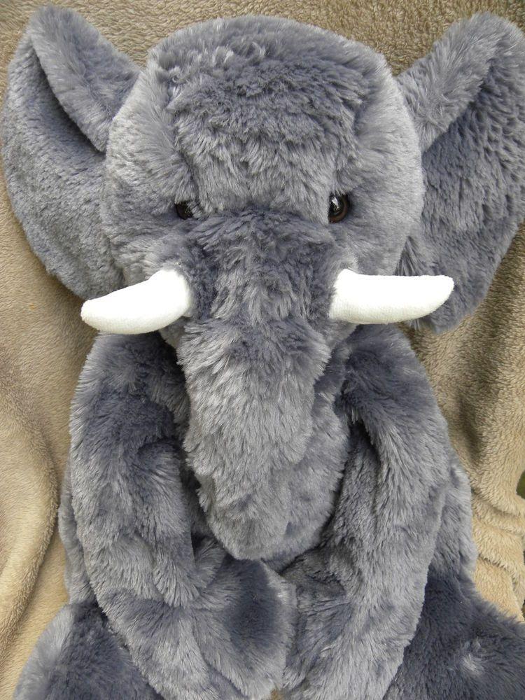 Large Elephant Plush Toys R Us Soft Toy Stuffed Animal