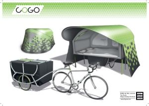 caravan fiets google zoeken bicycle nomadic living. Black Bedroom Furniture Sets. Home Design Ideas